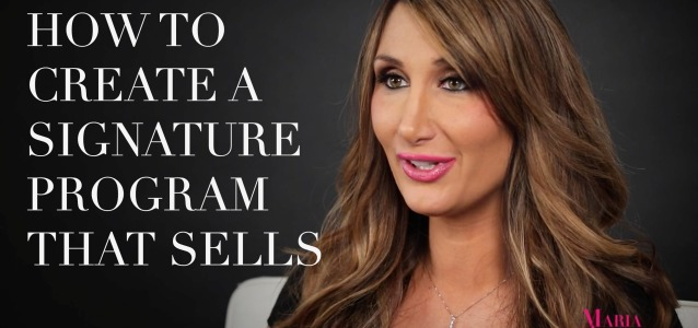 How to Create a Signature Program that Sells